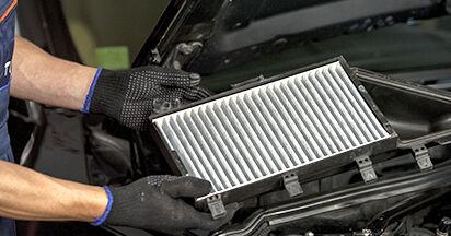 Combien de temps dure le remplacement : Filtre d'Habitacle sur BMW E60 2009 - manuel PDF informatif