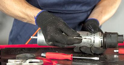 5 (E60) 525d 3.0 2002 525d 2.5 Kraftstofffilter - Handbuch zum Wechsel und der Reparatur eigenständig