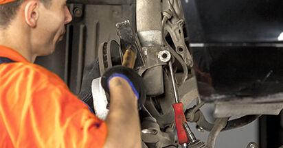 Quanto è difficile il fai da te: sostituzione Ammortizzatori su BMW E60 530i 3.0 2007 - scarica la guida illustrata