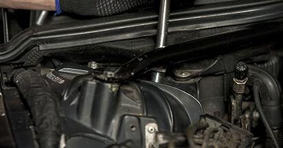 5 (E60) 525d 3.0 2002 Stoßdämpfer - Tutorial zum selbstständigen Teilewechsel