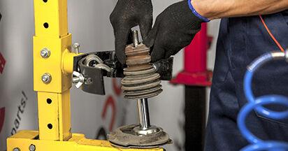 Wie lange benötigt das Auswechseln der Teile: Stoßdämpfer beim BMW E60 2009 - Detailliertes PDF-Tutorial
