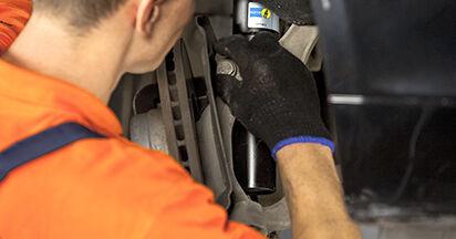 Consigli passo-passo per la sostituzione del fai da te BMW E60 2004 525d 3.0 Ammortizzatori