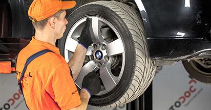 Wie man BMW 5 (E60) 530d 3.0 2002 Stoßdämpfer wechselt - Schritt-für-Schritt-Leitfäden und Video-Tutorials