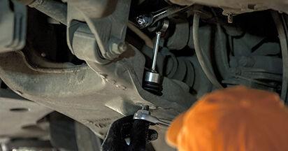 Koppelstange Ihres BMW E60 525d 2.5 2009 selbst Wechsel - Gratis Tutorial