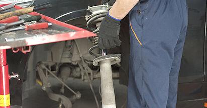 Tausch Tutorial Domlager am BMW 5 (E60) 2003 wechselt - Tipps und Tricks