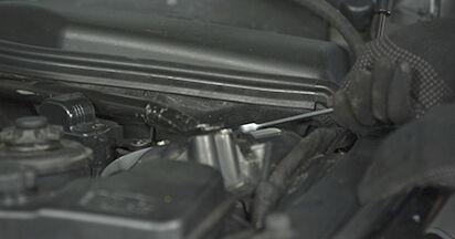 Schritt-für-Schritt-Anleitung zum selbstständigen Wechsel von BMW E60 2004 525d 3.0 Domlager