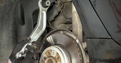 5 (E60) 525d 3.0 2002 Control Arm DIY replacement workshop manual