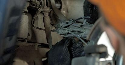 BMW E60 525d 2.5 2003 Control Arm replacement: free workshop manuals
