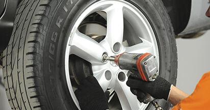 Zweckdienliche Tipps zum Austausch von Bremsscheiben beim HYUNDAI SANTA FÉ II (CM) 2.2 CRDi 2011