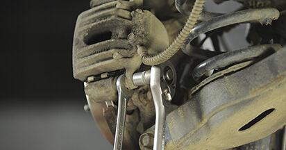 SANTA FÉ II (CM) 2.2 CRDi GLS 2008 2.2 CRDi GLS 4x4 Bremsbeläge - Handbuch zum Wechsel und der Reparatur eigenständig