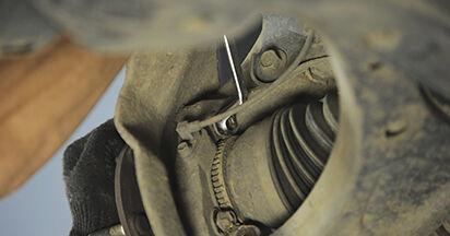 Tausch Tutorial Radlager am HYUNDAI SANTA FÉ II (CM) 2009 wechselt - Tipps und Tricks
