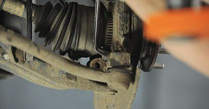 Radlager Hyundai Santa Fe cm 2.2 CRDi 2007 wechseln: Kostenlose Reparaturhandbücher
