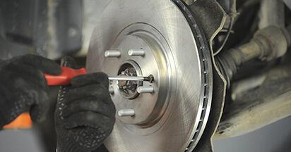 Austauschen Anleitung Radlager am Hyundai Santa Fe cm 2007 2.2 CRDi 4x4 selbst