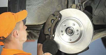 SANTA FÉ II (CM) 2.2 CRDi GLS 2008 2.2 CRDi GLS 4x4 Radlager - Handbuch zum Wechsel und der Reparatur eigenständig