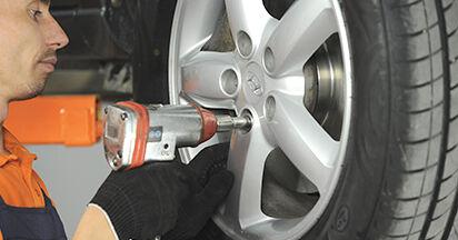 Wie Koppelstange Hyundai Santa Fe cm 2.2 CRDi 4x4 2005 tauschen - Kostenlose PDF- und Videoanleitungen