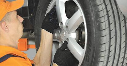 Koppelstange Ihres Hyundai Santa Fe cm 2.2 CRDi GLS 4x4 2005 selbst Wechsel - Gratis Tutorial