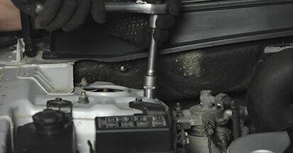 Så lång tid tar det att byta Fjäderbenslagring på Hyundai Santa Fe cm 2005 – informativ PDF-manual