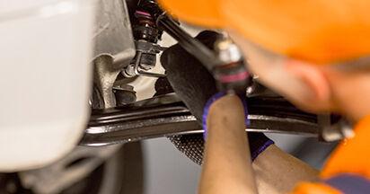 Spurstangenkopf Ihres Mercedes W201 E 2.0 (201.024) 1990 selbst Wechsel - Gratis Tutorial