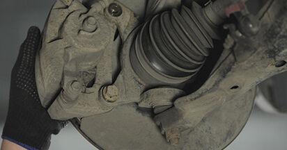 CR-V II (RD_) 2.4 2006 2.2 CTDi (RD9) Bremsscheiben - Handbuch zum Wechsel und der Reparatur eigenständig