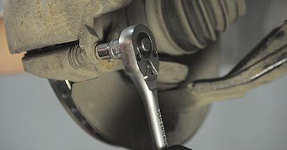 Bremsbeläge Honda CR-V II 2.0 2003 wechseln: Kostenlose Reparaturhandbücher