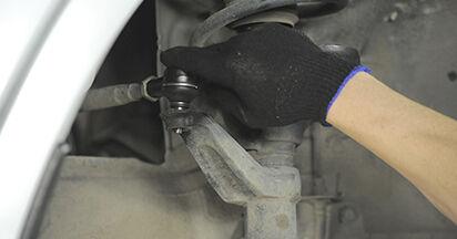 Spurstangenkopf beim HONDA CR-V 2.0 2002 selber erneuern - DIY-Manual
