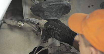 Wie HONDA CR-V 2.4 2005 Spurstangenkopf ausbauen - Einfach zu verstehende Anleitungen online
