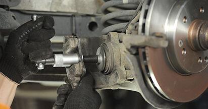 E-CLASS (W210) E 320 CDI 3.2 (210.026) 1997 Brake Pads DIY replacement workshop manual