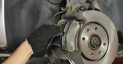 Jak dlouho trvá výměna: Brzdové Destičky na autě Peugeot 406 Combi 2004 - informační PDF návod