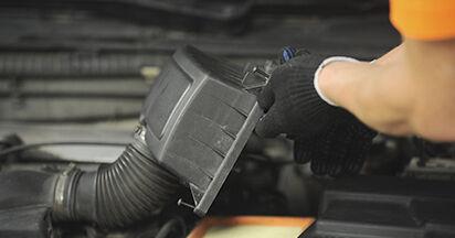 Jak vyměnit Vzduchovy filtr na PEUGEOT 406 Break (8E/F) 2001: stáhněte si PDF návody a video instrukce.
