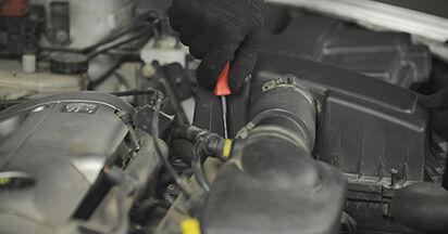 Svépomocná výměna Vzduchovy filtr na autě Peugeot 406 Combi 1997 2.0 HDI 110