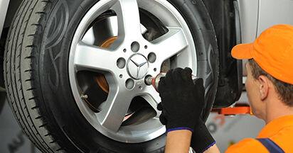 Wie Bremsscheiben Mercedes Viano W639 CDI 2.2 (639.711, 639.713, 639.811, 639.813, 639.815) 2003 tauschen - Kostenlose PDF- und Videoanleitungen