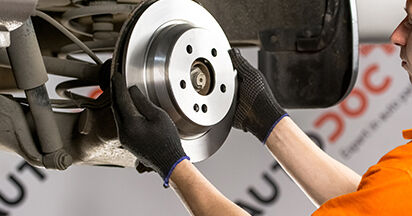 Bremsscheiben beim MERCEDES-BENZ VIANO 3.2 (639.713, 639.813, 639.815) 2010 selber erneuern - DIY-Manual