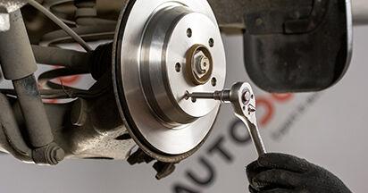 Bremsscheiben Ihres Mercedes Viano W639 CDI 2.2 (639.711, 639.713, 639.811, 639.813, 639.815) 2011 selbst Wechsel - Gratis Tutorial