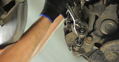Bremsbeläge Mercedes Viano W639 CDI 2.2 (639.811, 639.813, 639.815) 2005 wechseln: Kostenlose Reparaturhandbücher