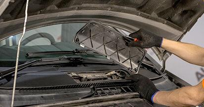Innenraumfilter Mercedes Viano W639 CDI 2.2 (639.811, 639.813, 639.815) 2005 wechseln: Kostenlose Reparaturhandbücher