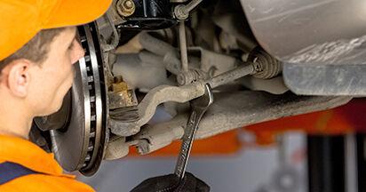 Spurstangenkopf Mercedes Viano W639 CDI 2.2 (639.811, 639.813, 639.815) 2005 wechseln: Kostenlose Reparaturhandbücher