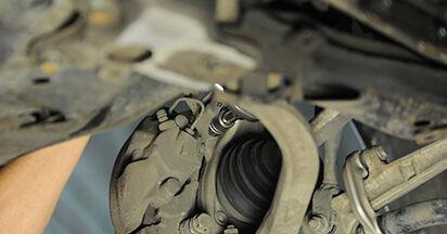 Austauschen Anleitung Bremsscheiben am Audi A4 b7 2004 2.0 TDI selbst