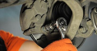 A4 Avant (8ED, B7) 2.0 TFSI quattro 2005 2.0 TDI 16V Bremsscheiben - Handbuch zum Wechsel und der Reparatur eigenständig
