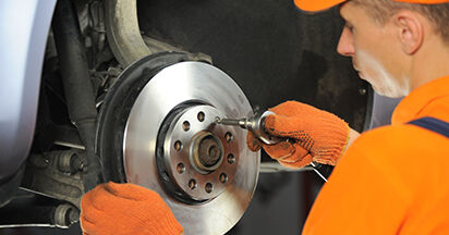 Bremsscheiben Ihres Audi A4 b7 2.0 TDI 16V 2007 selbst Wechsel - Gratis Tutorial