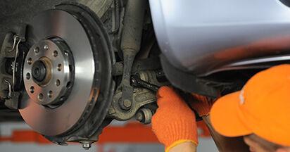 Koppelstange Audi A4 b7 1.9 TDI 2006 wechseln: Kostenlose Reparaturhandbücher