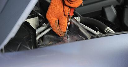 Quanto è difficile il fai da te: sostituzione Ammortizzatori su Audi A4 b7 1.8 T 2005 - scarica la guida illustrata