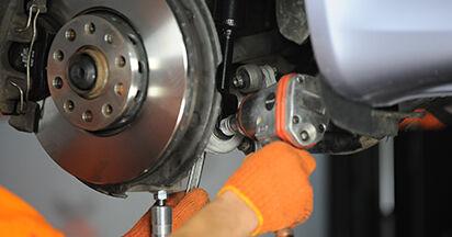La sostituzione di Ammortizzatori su Audi A4 b7 2007 non sarà un problema se segui questa guida illustrata passo-passo