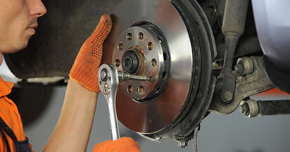 Austauschen Anleitung Radlager am Audi A4 b7 2004 2.0 TDI selbst