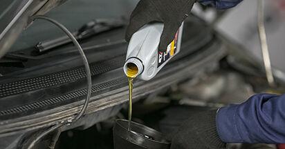 Austauschen Anleitung Ölfilter am MITSUBISHI COLT VI (Z3_A, Z2_A) 2012 1.3 selbst