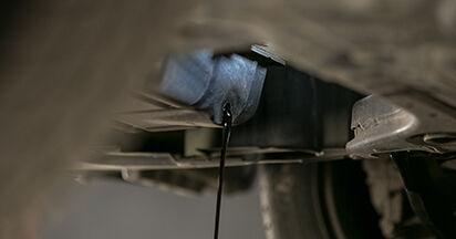 Ölfilter am MITSUBISHI COLT VI (Z3_A, Z2_A) 1.3 LPG 2007 wechseln – Laden Sie sich PDF-Handbücher und Videoanleitungen herunter