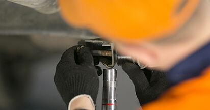 Stoßdämpfer MITSUBISHI COLT VI (Z3_A, Z2_A) 1.5 DI-D 2004 wechseln: Kostenlose Reparaturhandbücher