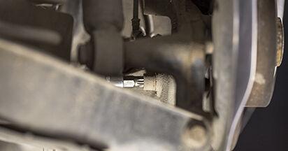 Wie lange benötigt das Auswechseln der Teile: Radlager beim Octavia 1z5 2012 - Detailliertes PDF-Tutorial