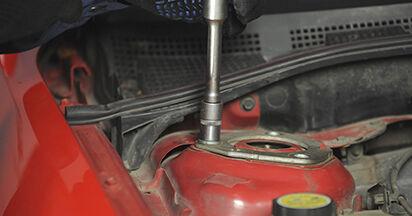 Cât durează înlocuirea: Amortizor la Mazda 3 bk 2004 - manualul informativ în format PDF