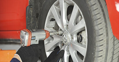 Schimbare Amortizor la Mazda 3 bk 2006 1.6 de unul singur