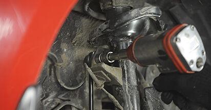 Schimbare Mazda 3 bk 1.6 DI Turbo 2005 Amortizor: manualele de atelier gratuite